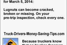 Truck Drivers Money Saving Tip Images / Each image is made from an individual Truck Drivers Money Saving Tip.