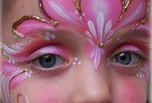 Kinderschminken Mädchen Prinzessin