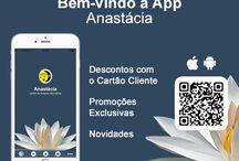APP CENTRO ANASTACIA / A app Centro Anastácia já se encontra disponível nas lojas Apple e Google Play! Pode descarregá-la no seu telemóvel a partir deste link. Descontos, novidades e cartão de fidelização na descarga da aplicação.