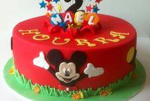 Gâteaux anniversaire / Mickey et Minnie