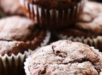 Chocolate, banana zucchini muffin
