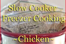 Freezing, meal planning, and crock pot / by Sarah Fox