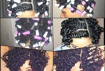 Routine Cheveux Crépus