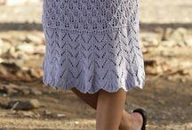 pletené sukně
