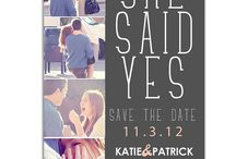 Save the Date Ideas / by Brandi Carnes