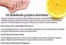 limon ile gripten kurtul