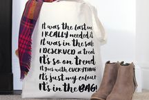 Tote Bags / Our brand new tote / shopping / market / cotton / canvas bags!