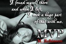 MVP Teasers / MVP (VIP BOOK 3) BY Author M. Robinson