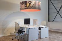 Lampenkappen bedrukt / Voor bedrijven, maar ook mooi in huis. Lampenkappen in vele modellen, afmetingen en kleuren. Bedrukt met tekst of foto.