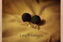 Les Bibelots - Boucles d'oreilles / Orecchini handmade.