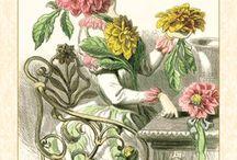 Flowers Art & Flower Crafts / Vintage flower art, vintage flower brooches, floral-themed crafts / by Dyeabolical