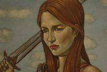 Fernando Fujiwara:  Pinturas: óleo sobre tela. / Pinturas em telas com técnica em Grisaille.