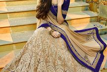 Sumptuous Lehenga Style Sarees / Grab some lavish lehenga style sarees designs to make a unique style statement this season! Enriched with rich fabrics, lovely colors and intricate detailing.