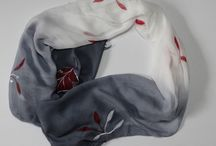 scarf painted
