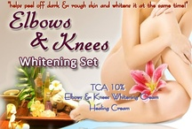 Elbows and Knees Whitening Set / Helps peel off dark and rough skin and whitens it at the same time!  Contains: •TCA 10% •Elbows and Knees Whitening Cream •Healing Cream  Price: P530.00  For orders, call/text me at 09178556638.