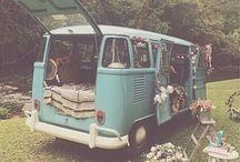 Volkswagen Van Hippie