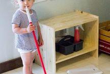 Montessorie playroom
