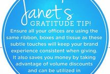 Gratitude Tips for the Office and Home / Ideas and suggestions to help you recognize better at work and home.
