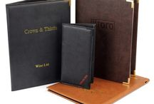 Classic Vivella Menu Covers / Vivella Menu Covers - Luxurious restaurant menu covers, available in a range of vibrant colours, luxurious and soft to the touch.