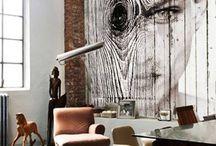 Murales / Fotografia en gran formato para murales y elementos divisorios.