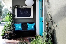 home entryway appeal / many ideas from small to large for creating the home entryway that welcomes and gives a glimpse into the style of the home's inhabitants