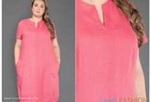 Plus size linen dresses / Plus size dress collection for women available in many sizes. The dresses are designed in different styles and colours for curvy girls. All our garments made from soft, skin-friendly 100% linen so everyone wearing it feel comfortable and confident all day long.  #plussizedresses #plussizelinen Discover our plus size collection online at www.linenfashion.com
