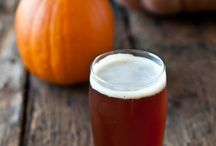 Fall beer, food, and drinks