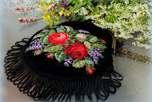 Embroidery. My handmade works. / Evening handbags.