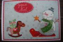 CARTES JOYEUX NOEL (POUR ENFANT) / cartes