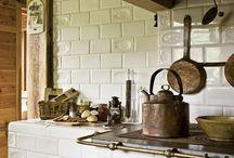 kuchnia z kafla