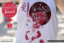 """T-Shirts / Collezione """"Lady Love Japan"""" / Abbigliamento / T-shirts DONNA"""