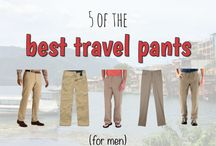 Travel Wardrobe / Travel clothing that doesn't look ridiculous, for adventuring around the world, and looking great the whole time.