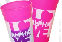 ALPHA OMICRON PI - custom designs
