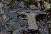 Glock 17 green