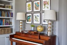 Decorating for an upright piano