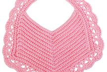 Crochet bibs and babystuff