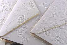 Embossed envelopes