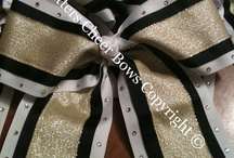 Cheer bows / by Julie Woodson