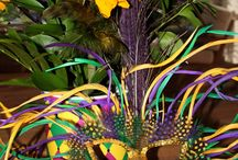 "Mardi Gras/New Orleans / ""Throw Me Something, Mister!""  ~~~   ""Who Dat?"" / by Paula Tramonte"