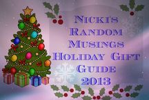 NRM 2013 Holiday Gift Guide  / Here's the listing of items on my 2013 Holiday Gift Guide.