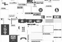 Project Life / digitaal scrapbook, project life ideetjes