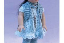 "Crochet  18""   Doll. / crochet patterns all things for dolly"