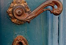 lovely old door handle
