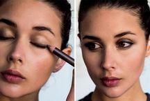 Makeup on