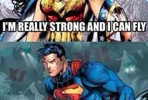 wonder woman and dc stuff