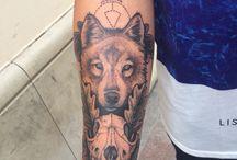 Minh Hoang Vu / Wolf tattoo