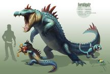 Realistic Pokemon, Digimon and other cartoons