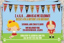 Kids bday party ideas / by Cheryl Latorre