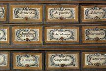Oldfashioned pharmacy