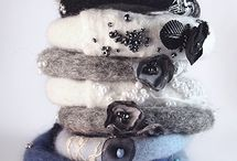 Felted jewellery / inspirations